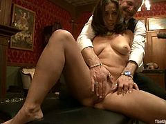 These people have an unforgettable New Year party. Submissive girls take their clothes off and get tied up. After that they suck dicks and get spanked.