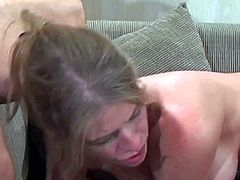 Daphne Rosen is one sexy milf with totally fuckable tight asshole. She takes one dick in her anal tunnel and another one in her mouth. Watch anal loving Daphne Rosen gets shared.