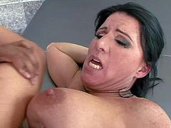 Kendra Secrets is a hot fuck hungry dark haired milf that gets her meaty wet pussy banged in a wide variety of sex positions. Watch her take love torpedo in her vagina again and again.