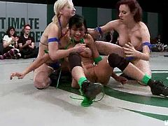 Two lusty and sassy chicks get naked and start making each other feel so fucking good! Damn, this is just amazing and so fucking perverted.