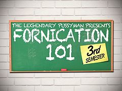 The PussyMan Presents: Fornication 101 3rd Semester. We see the pussyMan homeless but catches a break when someone throws money into a garbage where he was sleeping. He takes the opportunity to cast some of the hottest LA sluts to be in his new film. The saying always goes