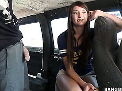 Stacked cutie Cassandra Nix with round bottom wants his love wand to fuck her fuck hole hard