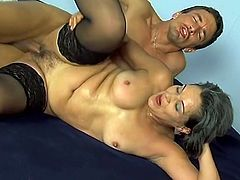 Horny Granny Received Some Fresh Stiff Sausage Deep Into Her