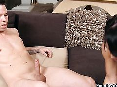 Tim Cannon fucks Savannah Stern with gigantic jugs as hard as possible in steamy sex action