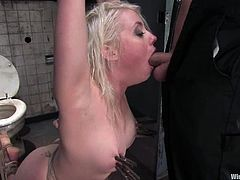 Danny Wylde is playing dirty games with slutty blonde Lorelei Lee. Lorelei shows her cock-sucking skills and then gets tormented and fucked from behind.