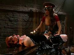 THis is sort of an interrogation with a slutty siren Nika Noire and her slave Zak Tyler! Babe is going to humiliate him so bad!