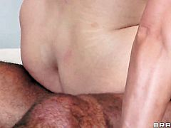 Keiran Lee gets pleasure from fucking Julia Ann  Tanya Tate with big hooters in her hot mouth