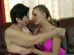 If they get horny they can have a lesbian sex with each other in their bedroom,lick each others wet pussy and finger drill it with their fingers.Watch this horny lesbians in their bedroom in 21 Sextury sex clips.