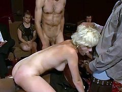French nymph constrained and twin fucked