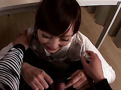 Kaede Fuyutsuki gets painted with man semen
