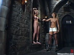 Hollie Stevens and Jenni Lee in great femdom video. Mistress gets her pussy licked. Then she toys her sex slave deep with a strap-on.