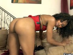 Arousing booty ebony whore misty stone