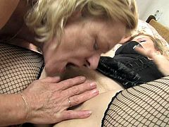 These incredibly perverted lesbians like spending their free time together. The bitches are rimming each other's hot pussies using their sex toy.