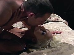 Porner Premium brigns you a hell of a free porn video where you can see how a Ravishing blonde slut gives great head and rides her man's hard cock into heaven.