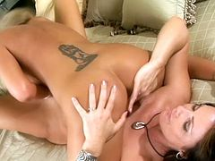 These curvy cougars are enjoying a solid session of hot lesbian sex for this video. A lot of wet pussy here and it is being serviced