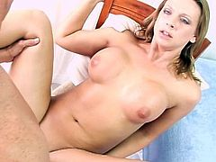 Amazing beauty Brianna Beach receives a strong cock to pound her cunt in wild POV action