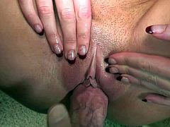 Brynn Tyler is a blue-eyed slut with big tits. She shows her assets as she gets her mouth and vagina drilled from your point of view. Watch horny stacked lady Brynn Tyler get heavily fucked.