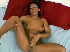This slender and kinky hone is wicked strong and she is going to get that thick cock deep in mouth! Angela loves the taste of cocks!