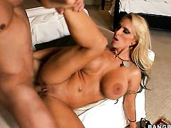 Holly Halston finds herself getting humped by horny man