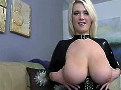 Sexy Curvy Blond MILF With Big Natural Tits