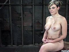 The big boobed blonde Gia Paloma has her pussy fucked by different sex machines in this lesbian femdom video.