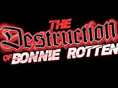 Check out this trailer from Bonnie Rotten's hardcore movie - The Destruction Of Bonnie Rotten. Her snatch got licked by lesbo sluts and also fucked with a machine.