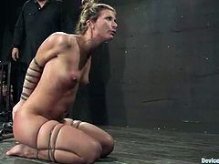 Annie Cruz and Ariel X are playing dirty games with Isis Love in a basement. Isis forces the sluts to eat her snatch, then she beats them and fucks their cunts with a toy.