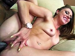 Interracial porn video is what exactly we got to offer you. Scarlett Wild, a lusty milf with a passion in her pussy goes for her black man!