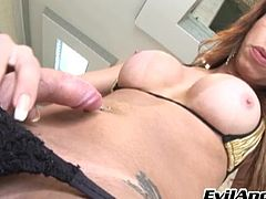 curved cock tranny @ house of she-males #11