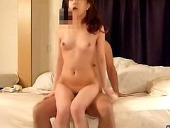 Watch this hot and skinny korean babe with her wet and tight pussy which is not shaved getting fucked from behind in All Of Gfs sex clips.