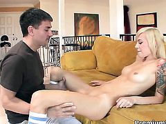 Emma Mae gets the hole between her legs fucked by hard cock