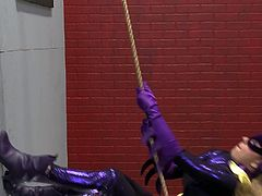 Funny cosplay turns into kinky FFM threesome fuck video