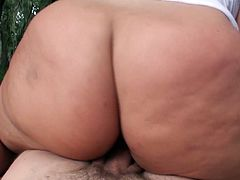 This curvaceous blondie wants to feel the taste of married cock in her pussy. She wants to fuck her neighbor and this time she isn't taking no for an answer. She climbs on top of him and rides him passionately making her big ass bounce up and down. Damn, that fat ass of hers drives me insane!