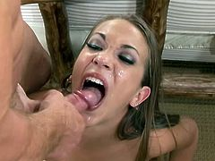 She's made for hardcore anal sex. Jamie Elle is beautiful Asian slut who love to be hard nailed and swallow warm sperm, this dude gives her all she loves