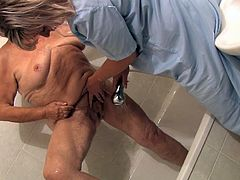 These incredibly perverted lesbians know how to make bath time for everyone. They wash each other's bodies carefull paying special attention to their moist pussies.