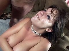 Hardcore Missy and two big loaded dicks
