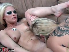 Sexy Ash Hollywood lesbian sex with blonde