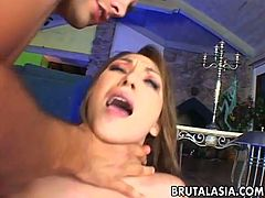 Roxy Jezel is an insatiable and super hot chick who loves big dicks more than anything. She received some hardcore pumping in both holes by two super horny dudes.