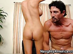 Blake Rose with massive knockers and clean snatch knows no limits when it comes to ass fucking with hot dude Tommy Gunn
