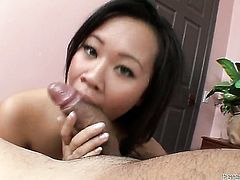 Kimmy Thai makes a dirty dream of never-ending interracial fucking a reality