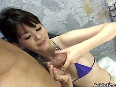 A wild Japanese gangbang for this kinky slut
