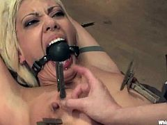 She is going to get tortured, painsulted and humiliated in this wild act of sadism by a divine bitch Maitresse Madeline.