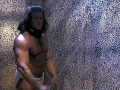Jayden Cole is s sexy bodied beauty with perfect boobs and long legs. She shows off her amazing body and rubs her pussy hard until Conan The Barbarian shows up. Watch her masturbate in nice porn parody.