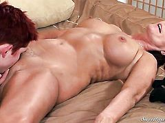 Magdalene St. Michaels and Lily Cade are curious about lesbian sex