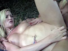 Young smoking hot blonde doll Britney Young and her classmate Skylar Green with great hunger for cock fuck with Marco Banderas and give him blowjob of his live in outdoor threesome.