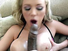 Jonni Darkko buries his rock solid dick in passionate Katie Koxs mouth