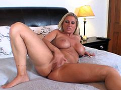 Nothing pleases this hot milf better than a huge dick to smash her wet vag