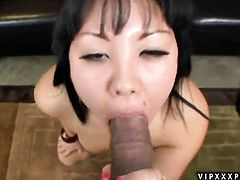 Teen exotic Tina Lee is one hot cock rider that takes it in interracial sex action