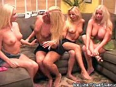 Four mega hot super sluts get together for an all out lesbian fuck fest! Thick yummy titties, delicious pussies, bubble butt asses!
