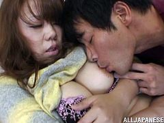 Make sure you have a look at this hot scene where a sexy Asian milf is eaten out and fucked by this guy as you hear her moan.